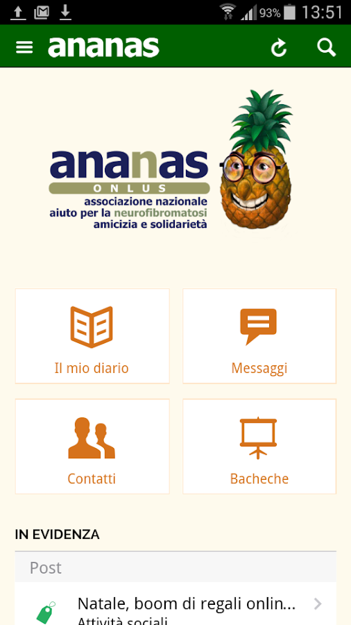 RARE ANANAS onlus- screenshot