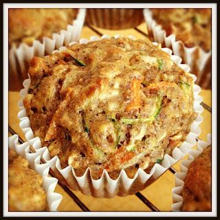 Zucchini Carrot Muffins.