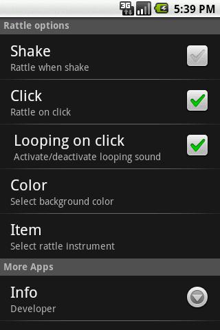 Baby Rattle- screenshot