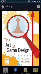 Art Of Game Design: Lenses - screenshot thumbnail