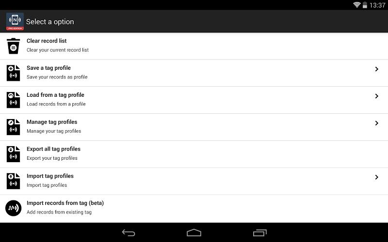 NFC Tools - Pro Edition Screenshot 11