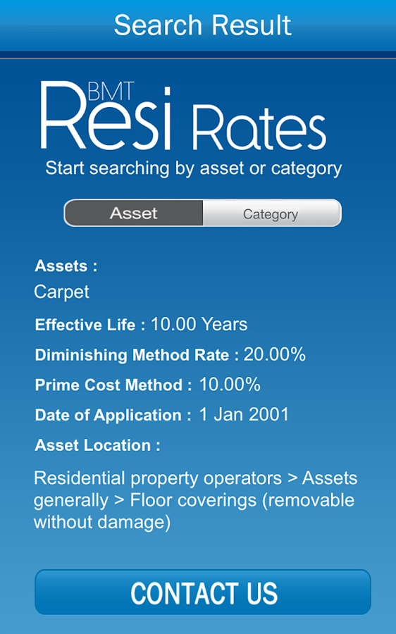 Bmt resi rates android apps on google play for Resi cost