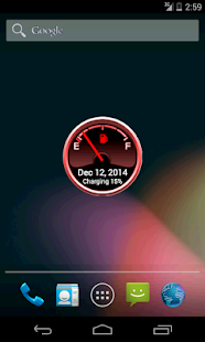 Battery Level Petrol Gauge- screenshot thumbnail