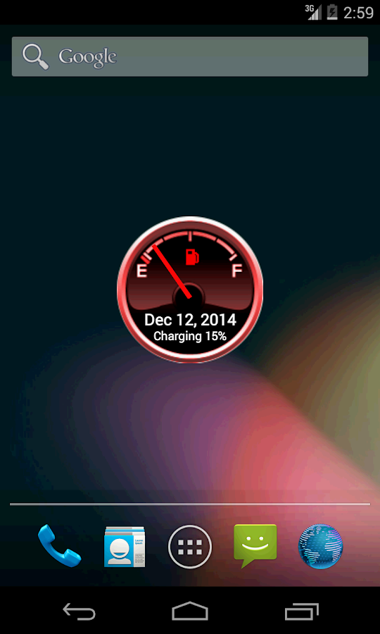 Battery Level Petrol Gauge- screenshot