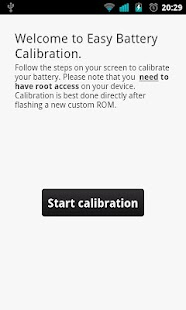 Easy Battery Calibration - screenshot thumbnail