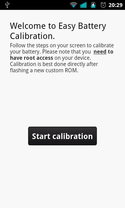 Easy Battery Calibration - screenshot