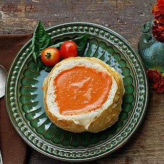 Creamy Heirloom Tomato Soup
