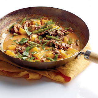 Beef and Pineapple Red Curry.