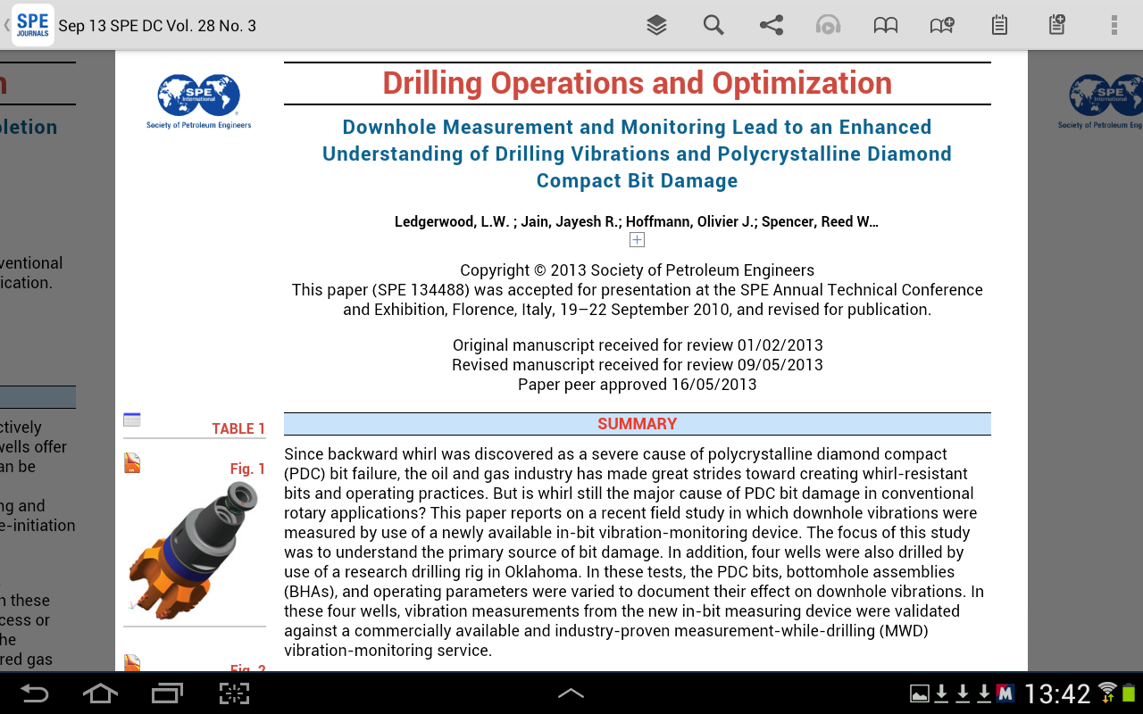 SPE PEER REVIEWED JOURNALS- screenshot