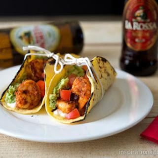 Blackened Shrimp Tacos with Queso Fresco
