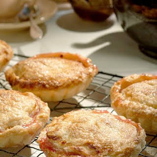 Individual Sour Cherry Pies.
