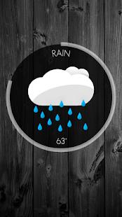 Circle Weather - UCCW Skin - screenshot thumbnail