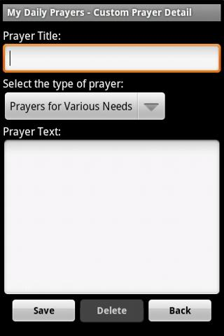My Daily Prayers - screenshot