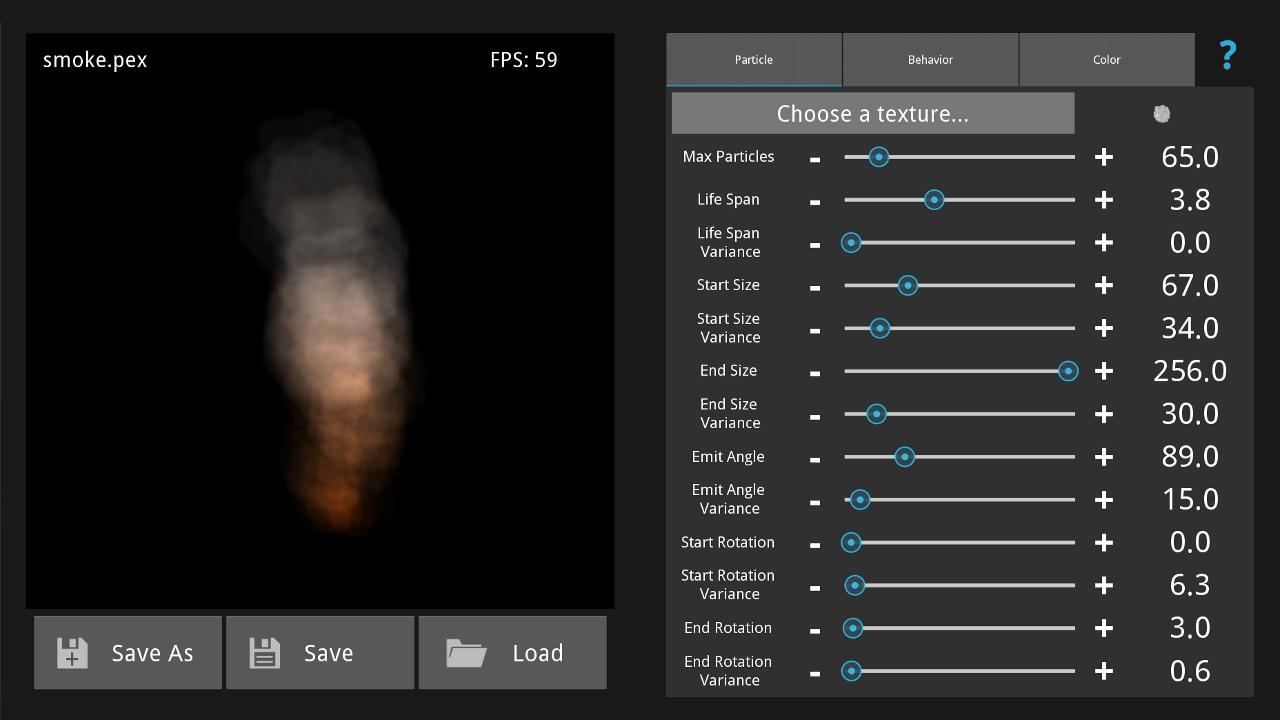 Particle Panda HD - screenshot