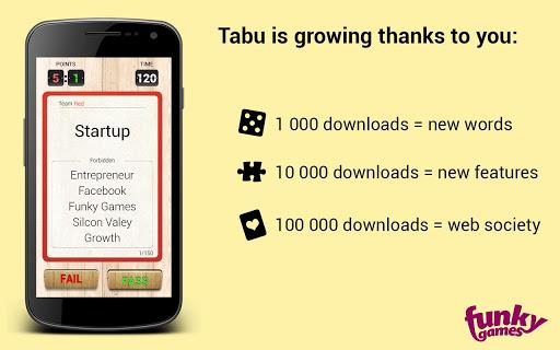 【免費休閒App】Taboo-APP點子