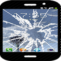 Show broken screen pranks icon