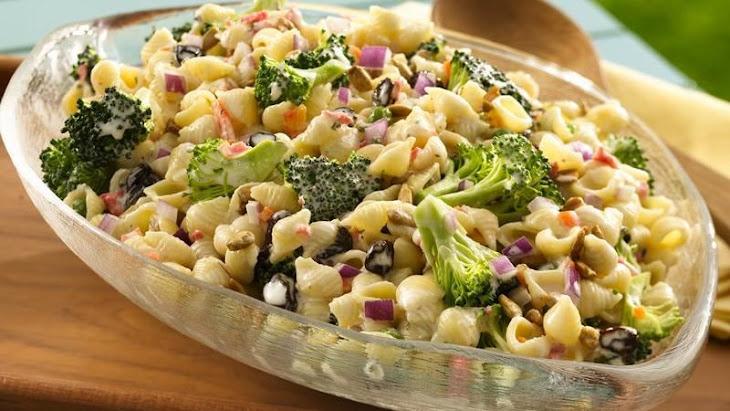 Sunny Broccoli Pasta Salad Recipe