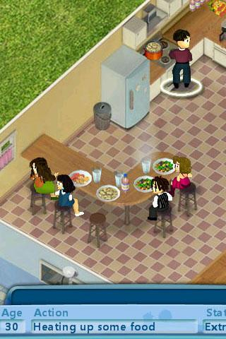 how to make a baby grow in virtual families 2
