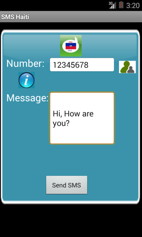 Free SMS Haiti- screenshot