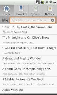 Open Hymnal Lite - screenshot thumbnail
