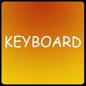 Fire Keyboard Skin