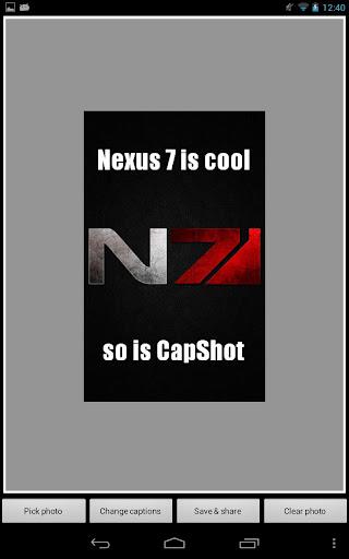 CapShot