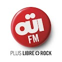 OUIFM  – Plus Libre + ROCK logo