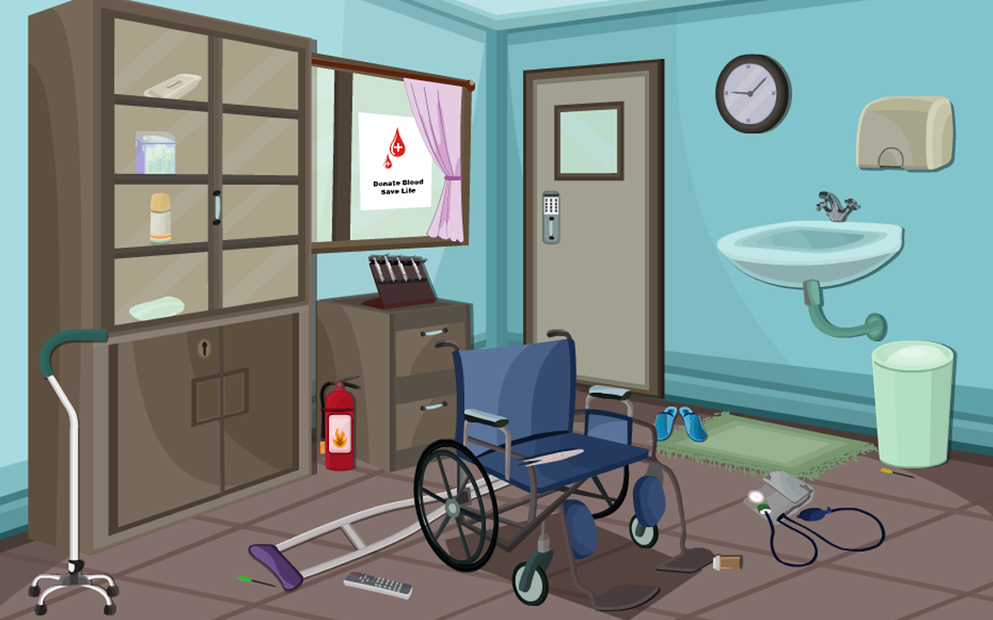 Escape Room Bathroom Level 1 escape puzzle hospital rooms - android apps on google play
