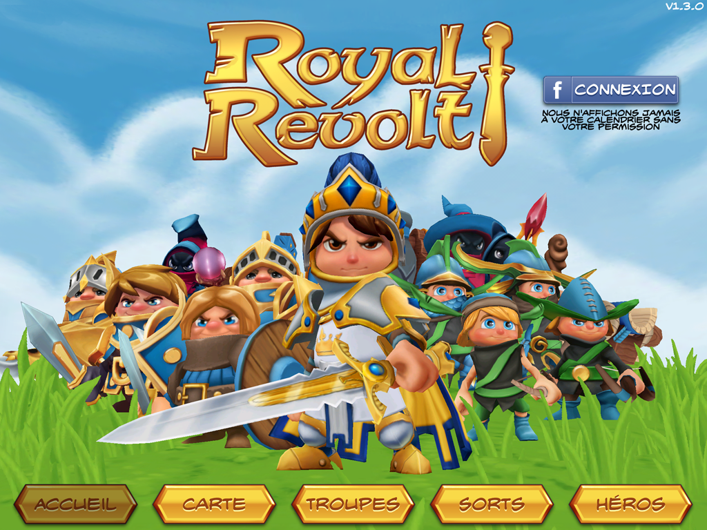Royal Revolt! – Capture d'écran