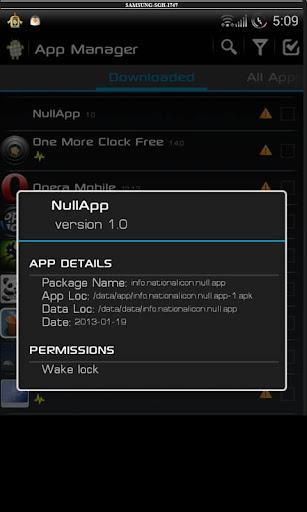 Null App