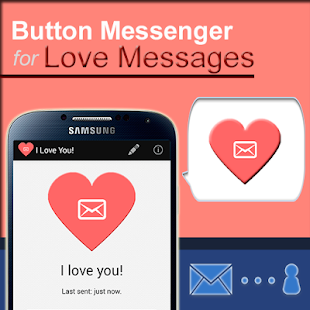 SMS Button Messenger - LOVE - screenshot thumbnail