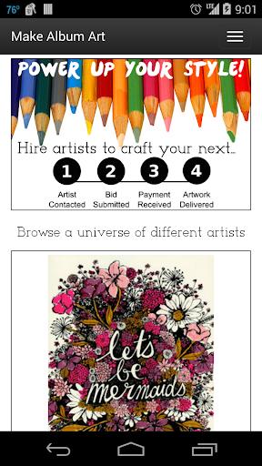 Make Art Make Album Art