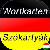 Szókártyák Német