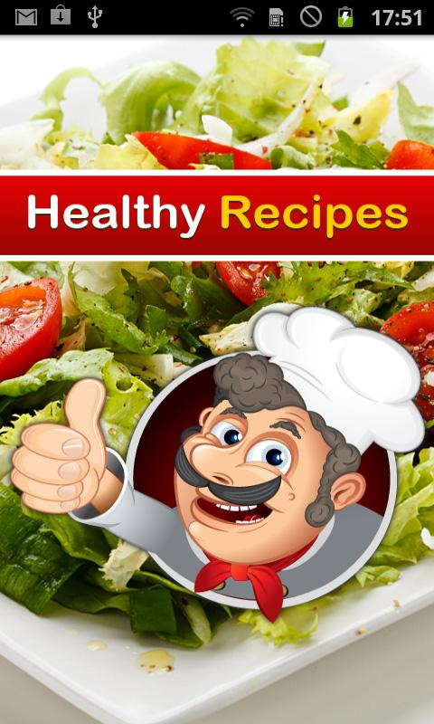 Healthy Recipes - screenshot