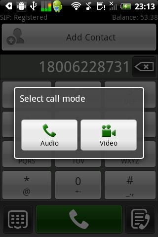 Global Cell Calls - screenshot