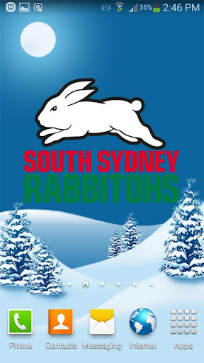 South Sydney Rabbitohs Snow
