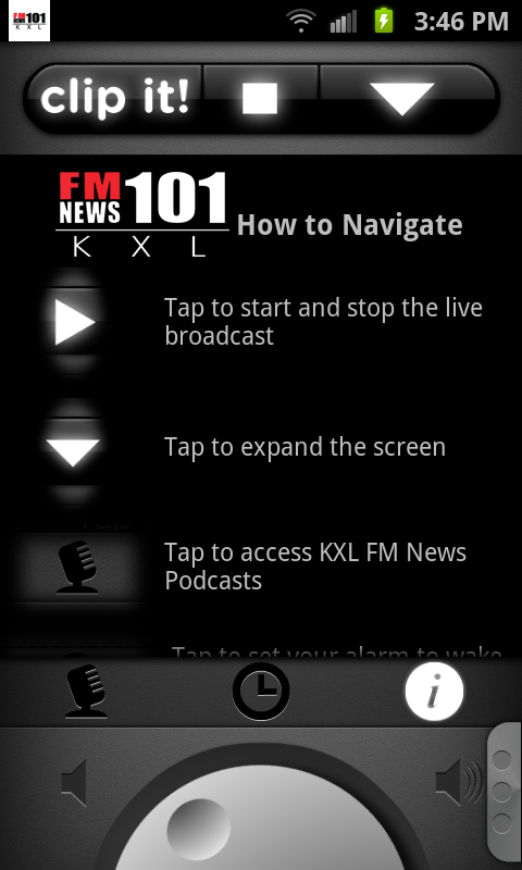 KXL FM News - screenshot