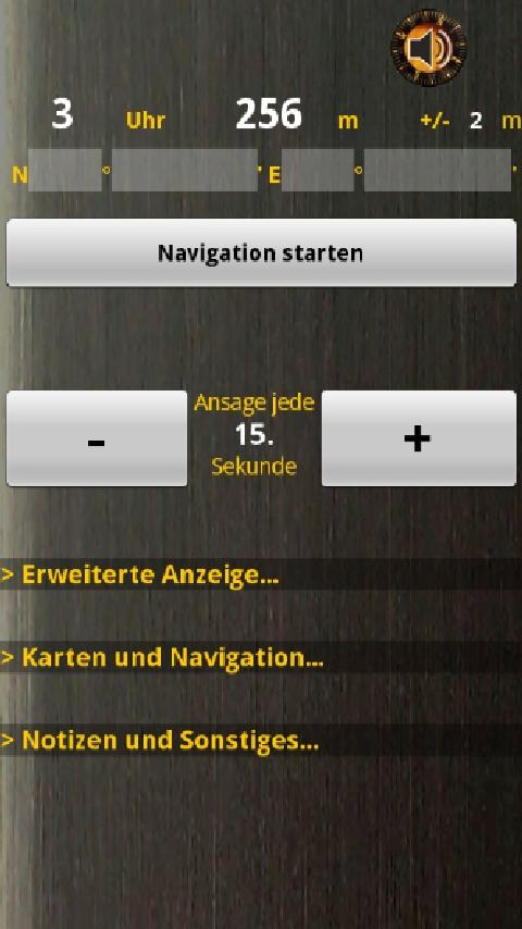 GC Babble Outdoor-Navigation- screenshot