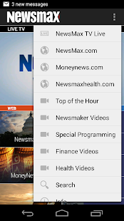 Newsmax TV & Web- screenshot thumbnail