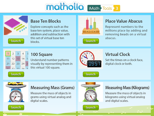 Matholia iMath Tools 3