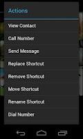 Screenshot of Speed Dial