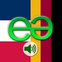 French to German Pro logo