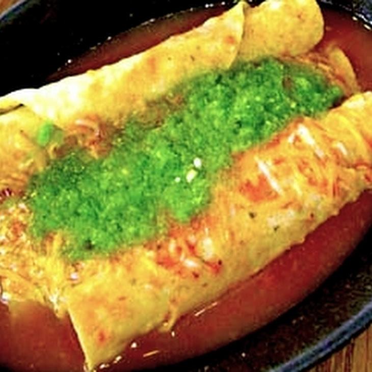 Tacos Dorados Ahogados (Toasted Tacos with Salsa) Recipe