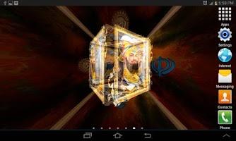 Screenshot of 3D Guru Gobind Singh Ji LWP