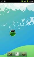 Screenshot of RaumZeitLabor: status widget