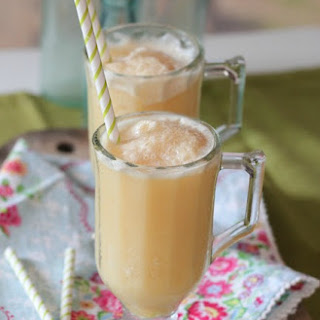 Honey and Orange Creamsicle Slushy.