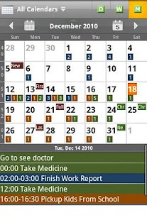 Checkmark All in One Calendar - screenshot thumbnail