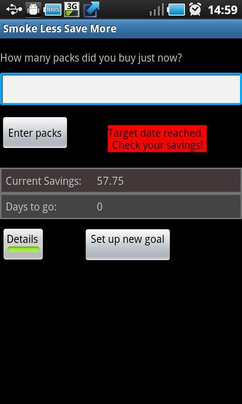 Smoke Less Save More (Light)- screenshot