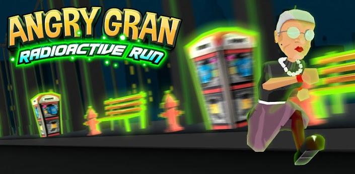 Angry Gran RadioActive Run (Злая Бабка) - новая часть популярного руннера для Андроид скачать