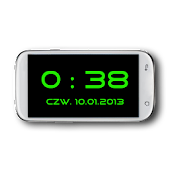 Fullscreen Clock